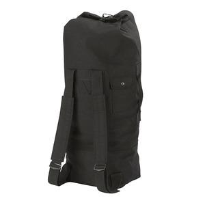 ROTHCO(ロスコ) ダッフルバッグ GIスタイル ダブルストラップ 帆布 Ro2485 ブラック