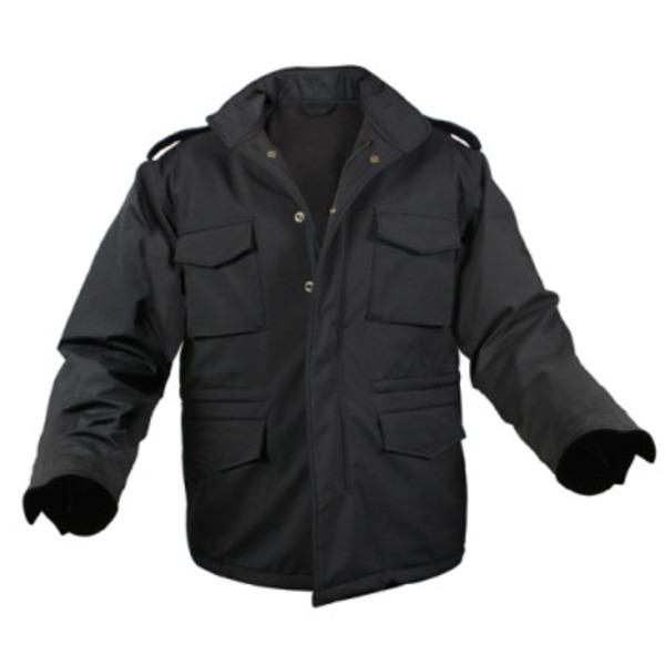ROTHCO(ロスコ) ソフトシェルタクティカル M65フィールドジャケット ROGT140980 ブラック XS