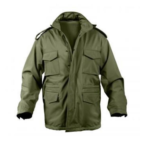 ROTHCO(ロスコ) ソフトシェルタクティカル M65フィールドジャケット ROGT140980 オリーブ XS