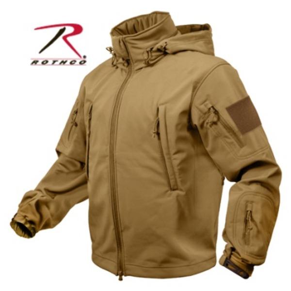 ROTHCO(ロスコ) スペシャルOP S タクティカルソフトシェルジャケット ROGT9745 コヨーテ ブラウン L
