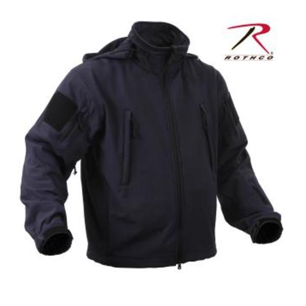 ROTHCO(ロスコ) スペシャルOP S タクティカルソフトシェルジャケット ROGT9745 ミッドナイト ネイビー L