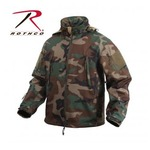 ROTHCO(ロスコ) スペシャルOP S タクティカルソフトシェルジャケット ROGT9745 ウッドランド カモ M