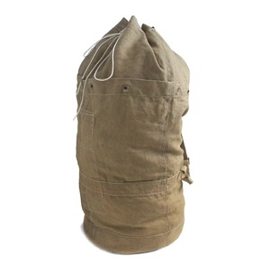 チェコ軍放出 コットリネンダッフルバッグ BD011UN【中古】