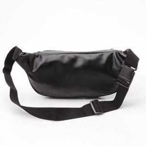 羊革+合皮ウェスト&ボディー2WAYバック IK1100 ブラック