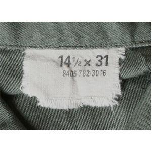 """メル・キブソン主演映画""""ワンス&フォーエバー""""Model USタイプ OG-107 ファティーグシャツ 長袖 JS086YN 13 1/2(レディースフリー)【レプリカ】"""