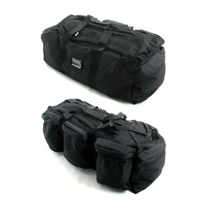 U.S.軍水にも強い防水加工布使用3WAYシーサックバック BH046YN ブラック