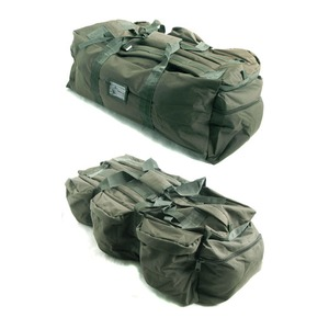 U. S.軍 水にも強い防水加工 布使用3WAYシーサックバッグ BH046YN オリーブ - 拡大画像