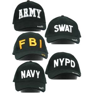 ミリタリーベースボールキャップ HC018NN【FBI】