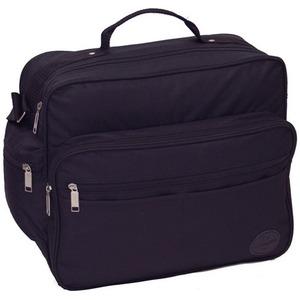 メンズビジネスショルダーバッグ横型IK8109クロ