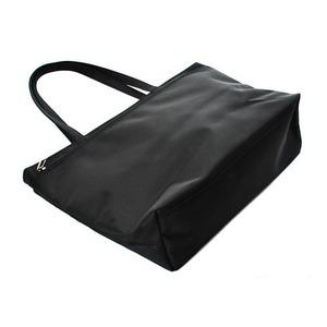 婦人キルティングトートバッグ横型 IK8027 クロ