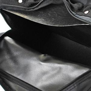 メンズビジネスショルダーバッグ 縦型 IK8036 クロ h02