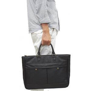合皮ビジネスバッグ IK116 チャ h02