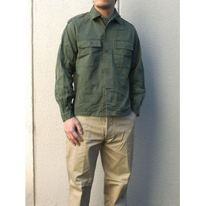 ベルーギー軍放出 フィールドシャツ J S006UN 48( M相当) 【中古】