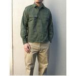 ベルーギー軍放出 フィールドシャツ J S006UN 50( L相当) 【中古】