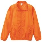 花粉対策フッ素撥水加工 ウインドブレーカー ブルゾン CB7064 オレンジ XXLサイズ