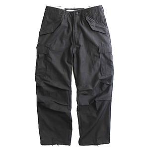 USタイプ「M-65」フィールドパンツ PP062YN ブラック メンズLサイズ 【レプリカ】