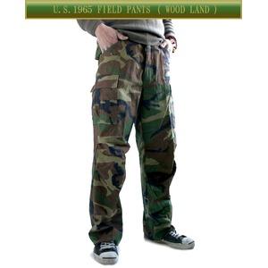 USタイプ「 M-65」フィールドパンツ PP062YN ウッドランド メンズ XLサイズ 【 レプリカ 】
