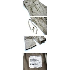 USタイプ「M-65」フィールドパンツ PP062YN カーキ メンズLサイズ 【レプリカ】