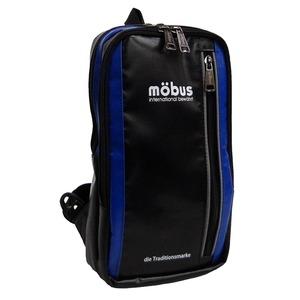 水に強いドイツブランド Mobus(モーブス)  ワンショルダー防水生地バッグ MB X303 ブラック/ブルー