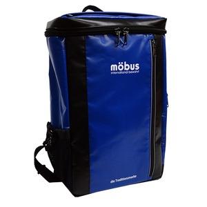 水に強いドイツブランド Mobus(モーブス)  防水生地スクウェアーバッグ MB X505 ブルー/ブラック