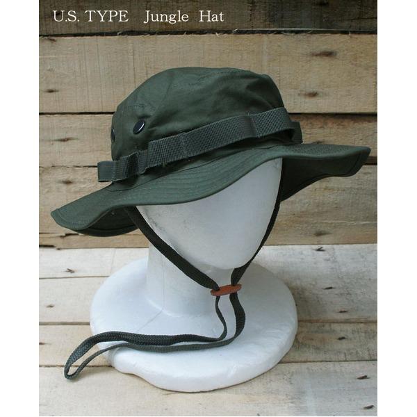 USタイプ ジャングルハット HH001NN オリーブ Lサイズ レプリカ
