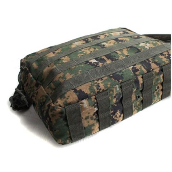 アメリカ軍 防水布使用A4対応MOLLショルダーバック BS076YN MARPATウッド 【レプリカ】