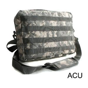 アメリカ軍 2WAYショルダーバッグ/鞄【モール/A4対応】 ナイロンキャンバス地 防水加工 BS076YN ACU【レプリカ】 - 拡大画像