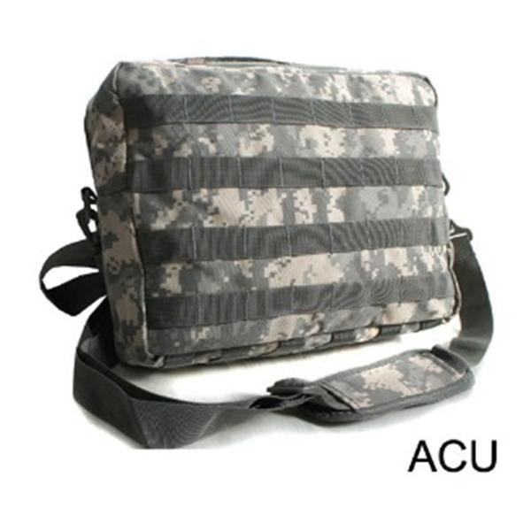 アメリカ軍 2WAYショルダーバッグ鞄モールA4対応 ナイロンキャンバス地 防水加工 BS076YN ACUレプリカ