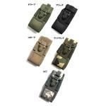 アメリカ軍 スマートフォンポーチ(携帯ポーチ) モール対応 防水加工 BP073YN ブラック 【 レプリカ 】