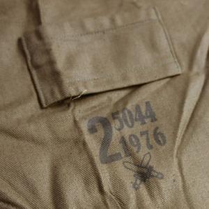 チェコ軍放出 ワークカバーオール CC024NN 2( L相当) 【 デットストック 】 【 未使用 】