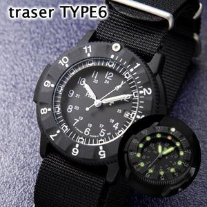 TRA SER TYPE6 米軍 公式ナビゲーター スイス製ウォッチ P6500.400.33.01 ブラック