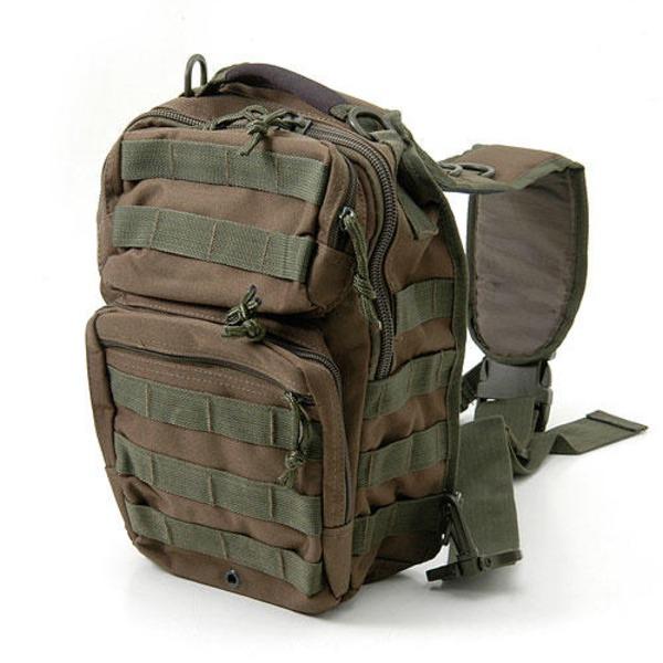 アメリカ軍 偵察隊肩掛けショルダーバッグ B S081YN オリーブ  レプリカ