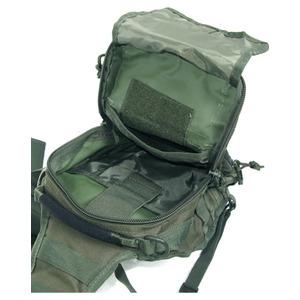 アメリカ軍 偵察隊肩掛けショルダーバッグ B S081YN ブラック 【 レプリカ 】