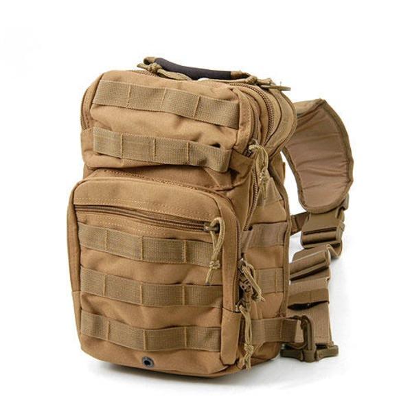 アメリカ軍 偵察隊肩掛けショルダーバッグ B S081YN コヨ‐テ ブラウン  レプリカ