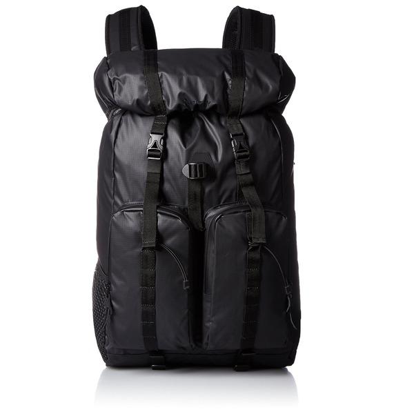 丈夫なバッグ通販『GERRY強く・軽く・しなやか・高耐水圧新素材マジックプロテクションカブセリュック  GE1204 ブラック  』