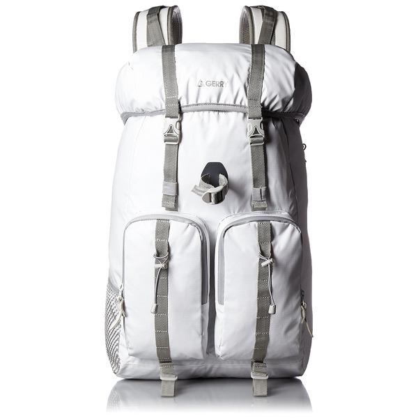 カブセリュック(リュックサック) GERRY 【 21 L 】 アルミフレーム付 軽量/高耐水圧 マジックプロテクション GE1204 ホワイト(白)