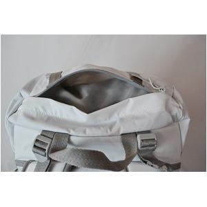 カブセリュック(リュックサック) GERRY 【 21 L 】 アルミフレーム付 軽量/高耐水圧 マジックプロテクション GE1204 ホワイト(白) f05
