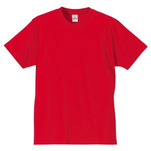 Tシャツ CB5806 レッド Lサイズ 【 5枚セット 】  h01