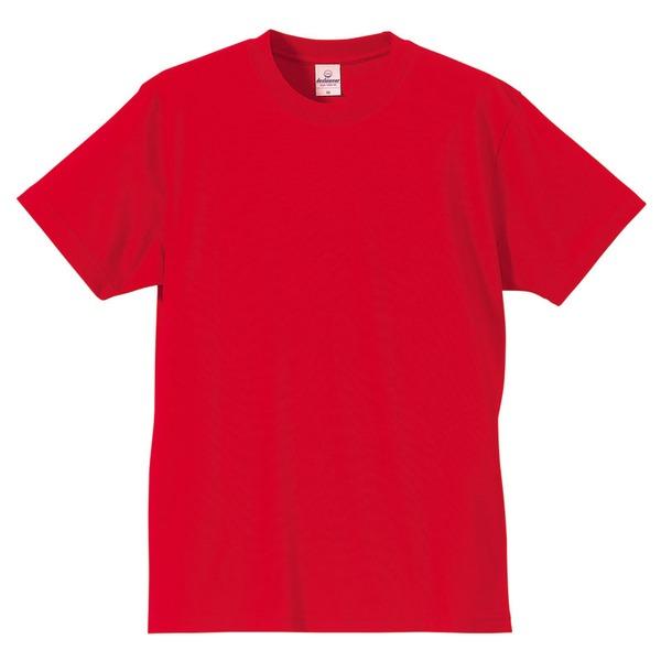 Tシャツ CB5806 レッド Lサイズ 【 5枚セット 】 f00