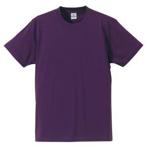 Tシャツ CB5806 パープル XLサイズ 【 5枚セット 】  h01