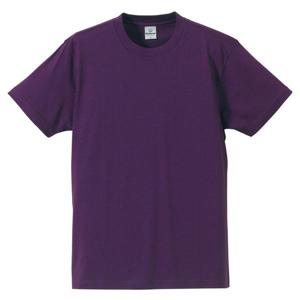 Tシャツ CB5806 パープル XLサイズ 【 5枚セット 】 f00