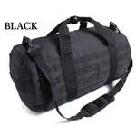 アメリカ軍 2WAYボストンバッグ/鞄 【 42 L 】 モール対応/ウレタン素材入り BH055YN ブラック 【 レプリカ 】