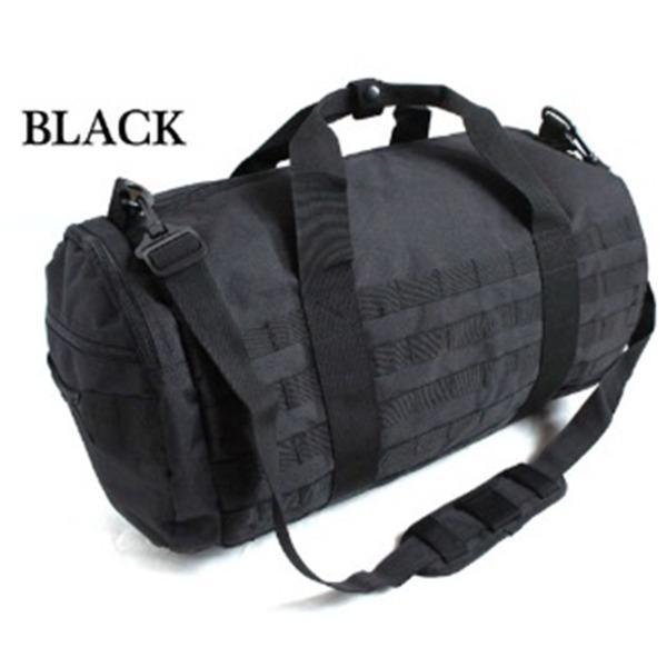 アメリカ軍 2WAYボストンバッグ/鞄  42 L  モール対応/ウレタン素材入り BH055YN ブラック  レプリカ