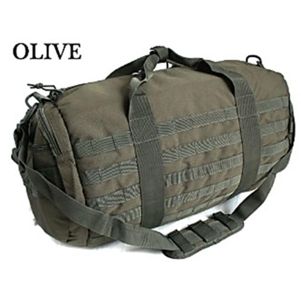 アメリカ軍 2WAYボストンバッグ/鞄  42 L  モール対応/ウレタン素材入り BH055YN オリーブ  レプリカ