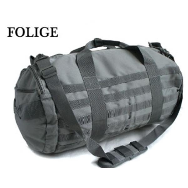 アメリカ軍 2WAYボストンバッグ/鞄  42 L  モール対応/ウレタン素材入り BH055YN フォッリッジ  レプリカ