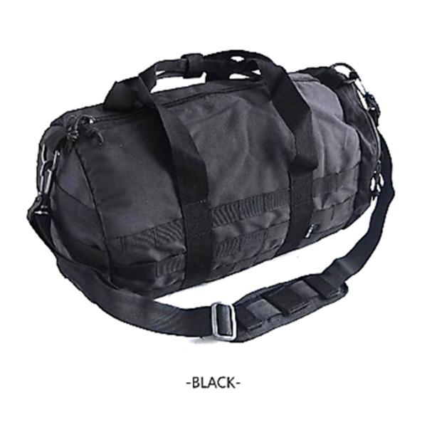 アメリカ軍 ボストンバッグ/鞄  2WAY  モール対応/ウレタン素材入り BH054YN ブラック  レプリカ