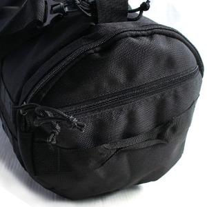 アメリカ軍 ボストンバッグ/鞄 【 2WAY 】 モール対応/ウレタン素材入り BH054YN ブラック 【 レプリカ 】