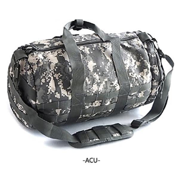 アメリカ軍 ボストンバッグ/鞄  2WAY  モール対応/ウレタン素材入り BH054YN ACU  レプリカ