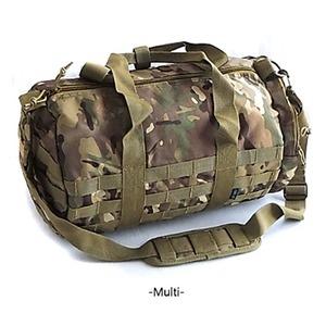 アメリカ軍 ボストンバッグ/鞄 【 2WAY 】 モール対応/ウレタン素材入り BH054YN マルチ カモ 【 レプリカ 】  - 拡大画像
