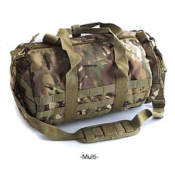 アメリカ軍 ボストンバッグ/鞄  2WAY  モール対応/ウレタン素材入り BH054YN マルチ カモ  レプリカ